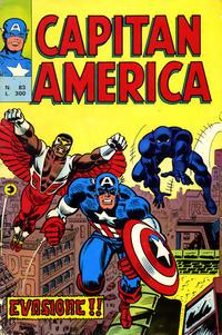 Cover Thumbnail for Capitan America (Editoriale Corno, 1973 series) #83