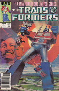 Cover Thumbnail for The Transformers (Marvel, 1984 series) #1 [Newsstand Edition]