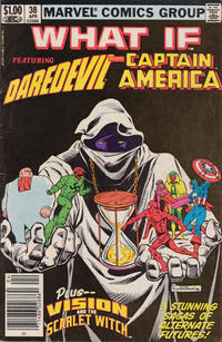 Cover Thumbnail for What If? (Marvel, 1977 series) #38 [Newsstand]