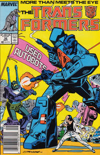 Cover Thumbnail for The Transformers (Marvel, 1984 series) #32 [Newsstand]