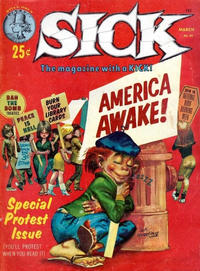 Cover Thumbnail for Sick (Prize, 1960 series) #43
