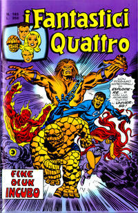 Cover Thumbnail for I Fantastici Quattro (Editoriale Corno, 1971 series) #163