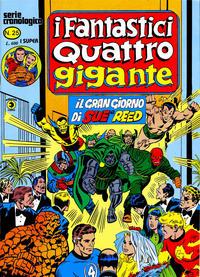 Cover Thumbnail for I Fantastici Quattro Gigante (Editoriale Corno, 1978 series) #25