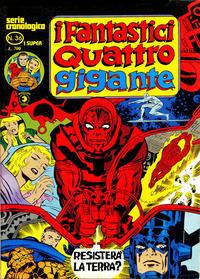 Cover Thumbnail for I Fantastici Quattro Gigante (Editoriale Corno, 1978 series) #36