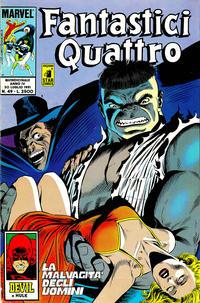 Cover Thumbnail for Fantastici Quattro (Edizioni Star Comics, 1988 series) #49