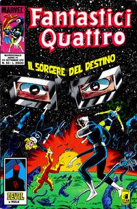 Cover Thumbnail for Fantastici Quattro (Edizioni Star Comics, 1988 series) #53