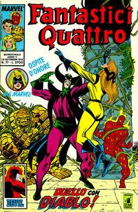 Cover Thumbnail for Fantastici Quattro (Edizioni Star Comics, 1988 series) #77
