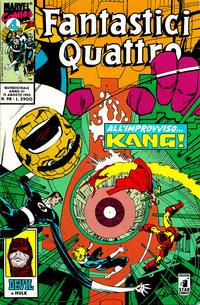 Cover Thumbnail for Fantastici Quattro (Edizioni Star Comics, 1988 series) #98