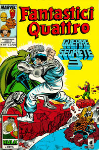 Cover Thumbnail for Fantastici Quattro (Edizioni Star Comics, 1988 series) #84