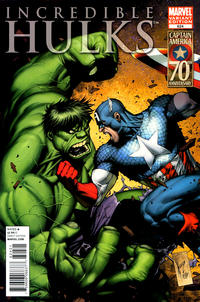 Cover Thumbnail for Incredible Hulks (Marvel, 2010 series) #624 [Variant Edition]