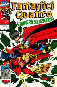 Cover Thumbnail for Fantastici Quattro (Edizioni Star Comics, 1988 series) #99