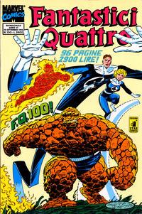 Cover Thumbnail for Fantastici Quattro (Edizioni Star Comics, 1988 series) #100