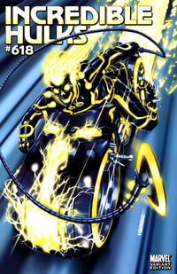 Cover Thumbnail for Incredible Hulks (Marvel, 2010 series) #618 [Tron Variant Edition]