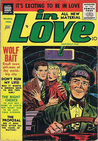 Cover Thumbnail for In Love (Mainline, 1954 series) #4
