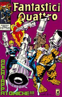 Cover Thumbnail for Fantastici Quattro (Edizioni Star Comics, 1988 series) #101