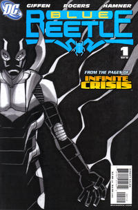 Cover Thumbnail for The Blue Beetle (DC, 2006 series) #1 [Second Printing]