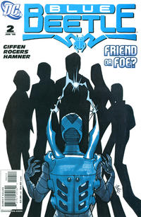 Cover Thumbnail for The Blue Beetle (DC, 2006 series) #2 [Second Printing]