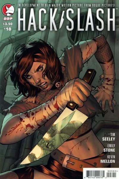 Cover for Hack/Slash: The Series (Devil's Due Publishing, 2007 series) #18 [Cover A]