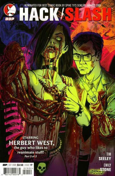 Cover for Hack/Slash: The Series (Devil's Due Publishing, 2007 series) #17