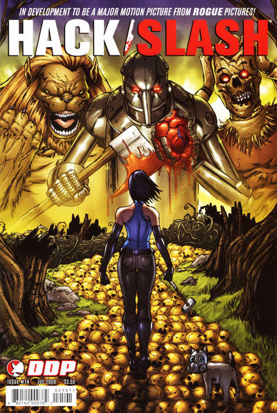 Cover for Hack/Slash: The Series (Devil's Due Publishing, 2007 series) #14