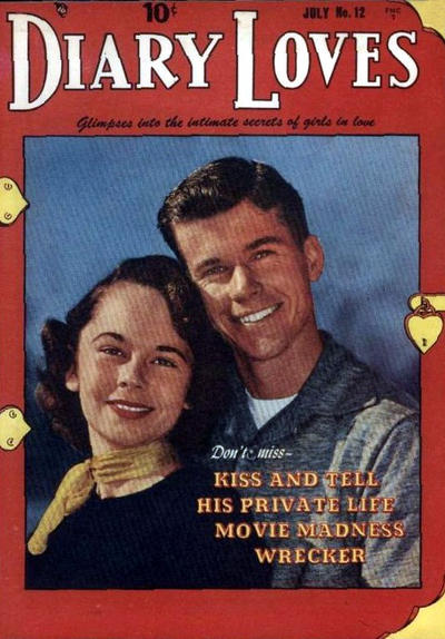 Cover for Diary Loves (Quality Comics, 1949 series) #12