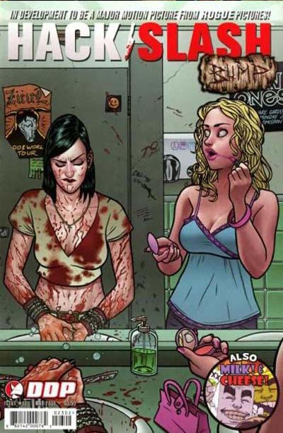 Cover for Hack/Slash: The Series (Devil's Due Publishing, 2007 series) #12 [Cover A]