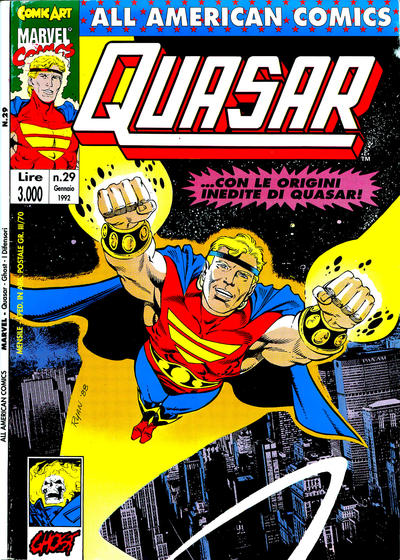 Cover for All American Comics (Comic Art, 1989 series) #29
