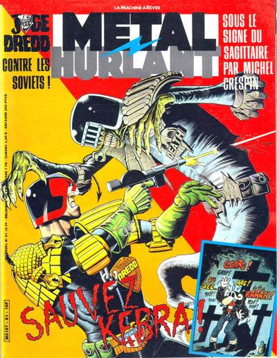 Cover for Métal Hurlant (Les Humanoïdes Associés, 1975 series) #81