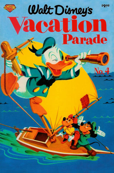 Cover for Walt Disney's Vacation Parade (Gemstone, 2004 series) #4