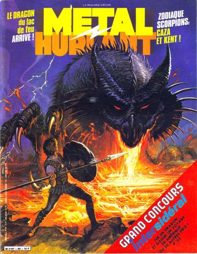 Cover for Métal Hurlant (Les Humanoïdes Associés, 1975 series) #80