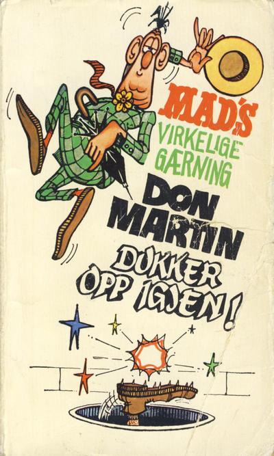 Cover for Mad pocket (Illustrerte Klassikere / Williams Forlag, 1969 series) #Mad's Don Martin dukker opp igjen!
