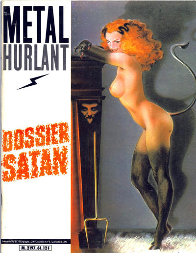 Cover for Métal Hurlant (Les Humanoïdes Associés, 1975 series) #61