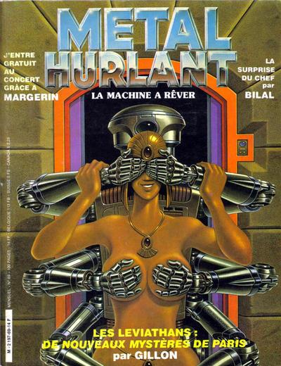 Cover for Métal Hurlant (Les Humanoïdes Associés, 1975 series) #69