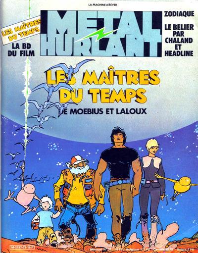 Cover for Métal Hurlant (Les Humanoïdes Associés, 1975 series) #73
