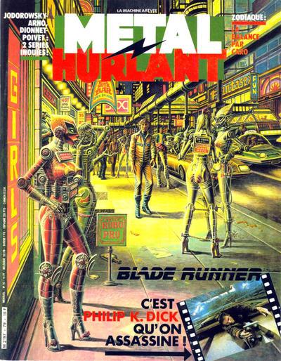 Cover for Métal Hurlant (Les Humanoïdes Associés, 1975 series) #79