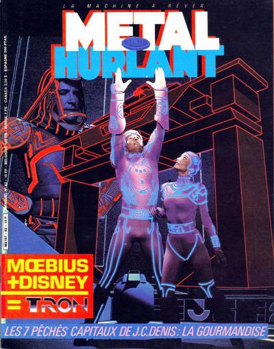 Cover for Métal Hurlant (Les Humanoïdes Associés, 1975 series) #82