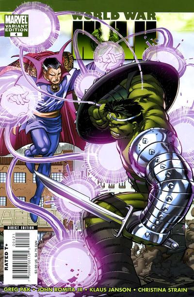 Cover for World War Hulk (Marvel, 2007 series) #4