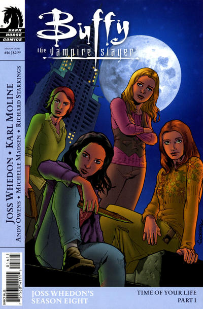 Cover for Buffy the Vampire Slayer Season Eight (Dark Horse, 2007 series) #16 [Georges Jeanty Cover]