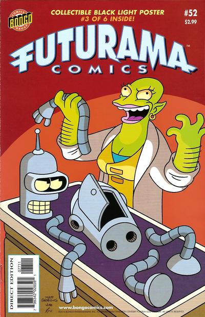 Cover for Bongo Comics Presents Futurama Comics (Bongo, 2000 series) #52