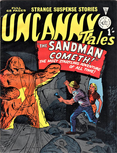 Cover for Uncanny Tales (Alan Class, 1963 series) #23
