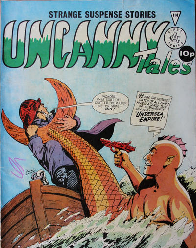 Cover for Uncanny Tales (Alan Class, 1963 series) #114