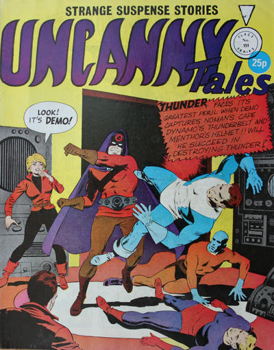 Cover for Uncanny Tales (Alan Class, 1963 series) #151