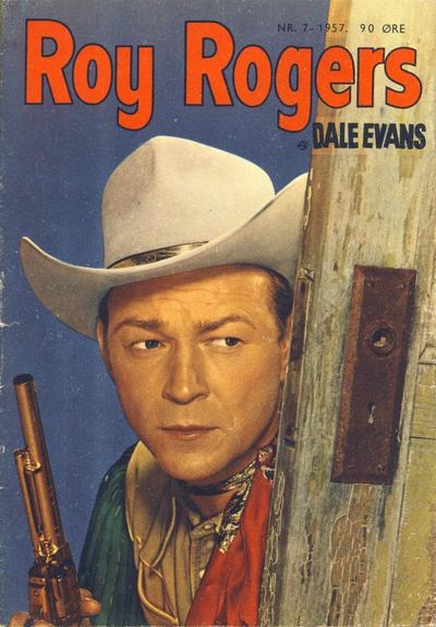 Cover for Roy Rogers (Serieforlaget / Se-Bladene / Stabenfeldt, 1954 series) #7/1957
