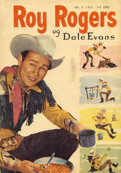 Cover for Roy Rogers (Serieforlaget / Se-Bladene / Stabenfeldt, 1954 series) #3/1957