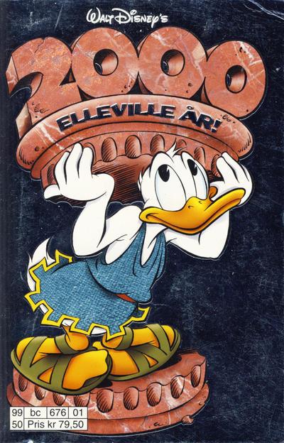 Cover for Donald Duck Tema pocket; Walt Disney's Tema pocket (Hjemmet / Egmont, 1997 series) #2000 elleville år