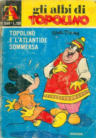 Cover for Albi di Topolino (Arnoldo Mondadori Editore, 1967 series) #1048