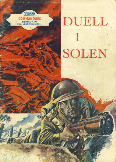 Cover for Commandoes (Fredhøis forlag, 1973 series) #28