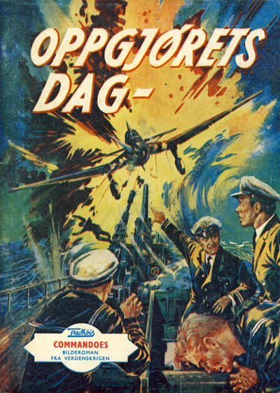 Cover for Commandoes (Fredhøis forlag, 1973 series) #36