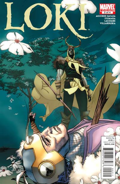 Cover for Loki (Marvel, 2010 series) #2