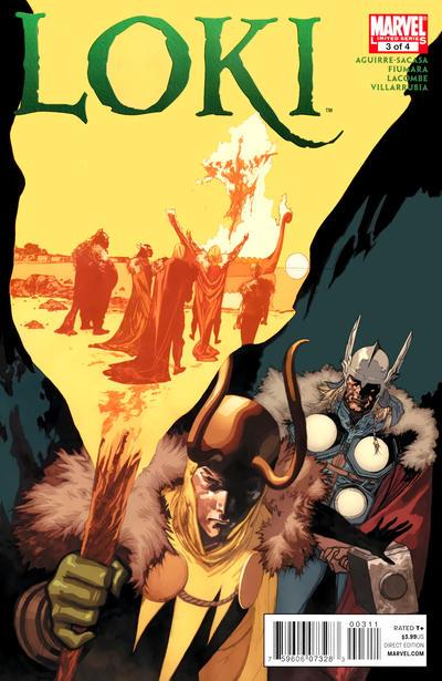 Cover for Loki (Marvel, 2010 series) #3